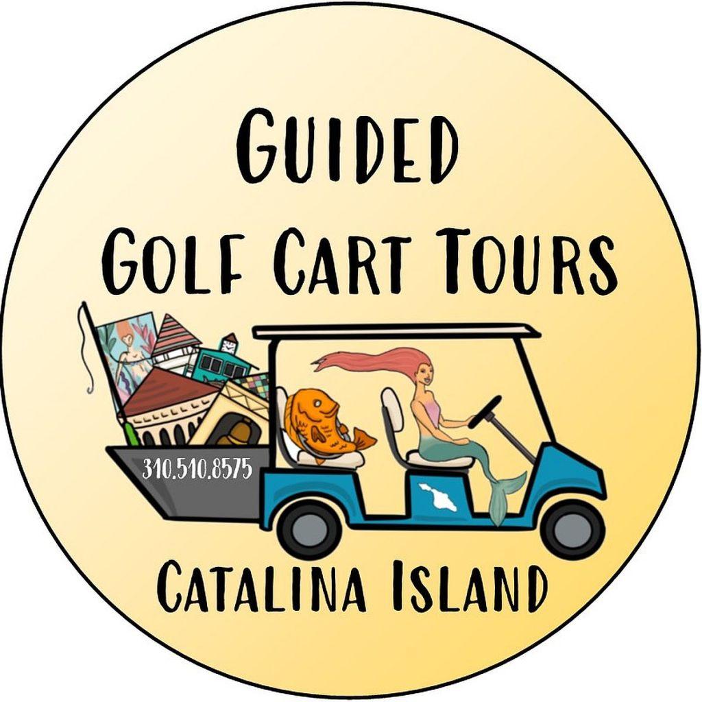 Guided golf cart tour Avalon