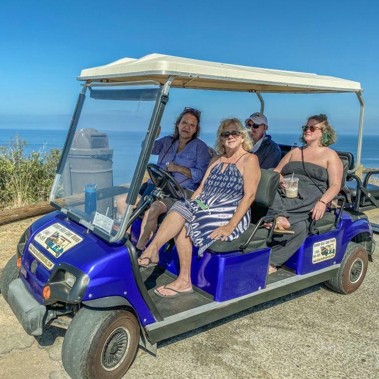 catalina golf cart tour